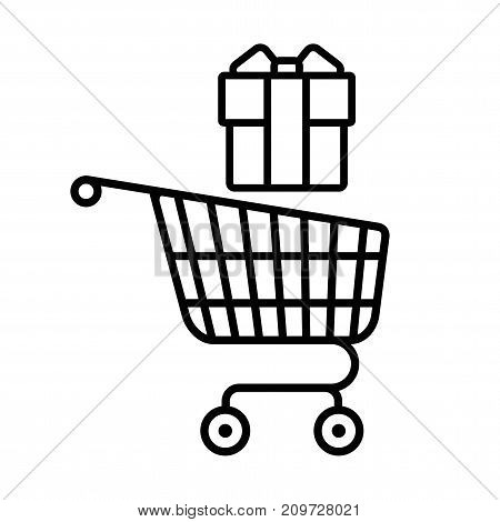 Shopping Cart With Gift