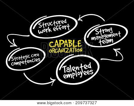 Capable Organization, Strategy