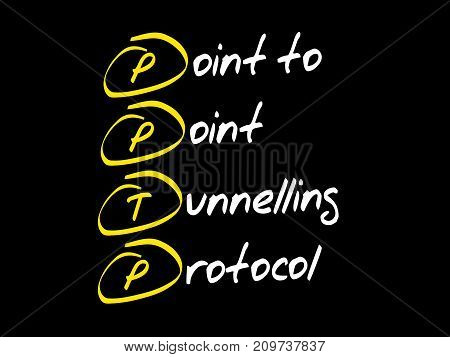 Point To Point Tunnelling Protocol