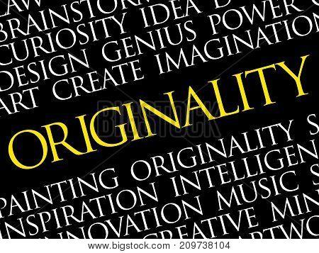 Originality Word Cloud