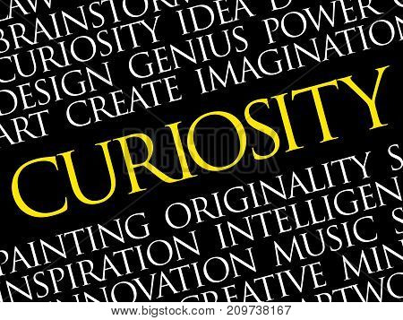 Curiosity Word Cloud