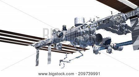 Nadir Image Of The International Space Station