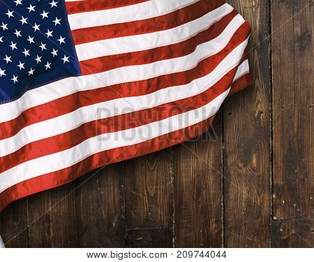 Background flag usa red white blue striped