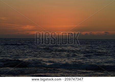 SUNSET IN HAWAII, Big Isla.nd, USA, EEUU