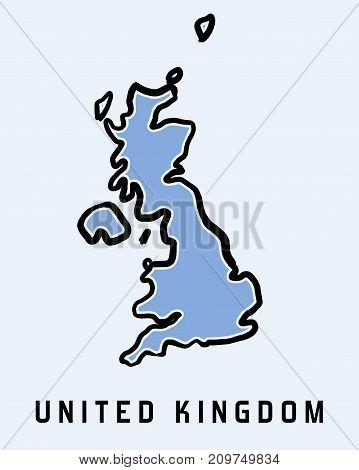 Uk Map Outline