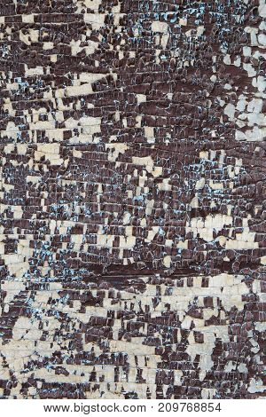 Corroded Wooden Background. Wooden Background With Rusted Spots.