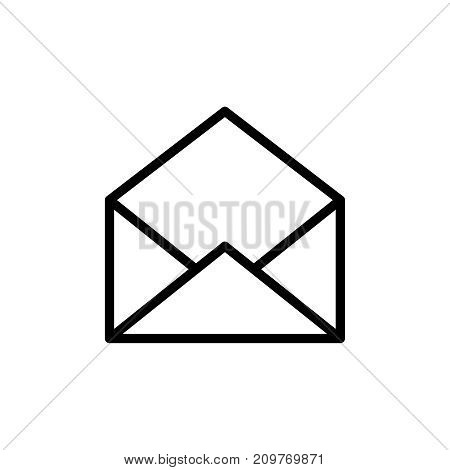 mail icon flat icon vector photo free trial bigstock rh bigstockphoto com  mail icon vector free download