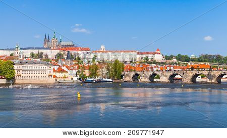 Old Prague With St. Vitus Cathedral