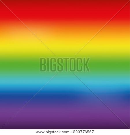 Bright rainbow mesh horizontal background. Vector illustration