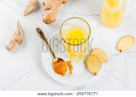 Turmeric And Ginger Detox Water
