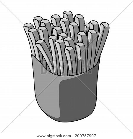 Packaging, single icon in monochrome style.Packaging vector symbol stock illustration .
