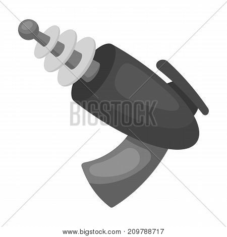 Weapons single icon in monochrome style.Weapons vector symbol stock illustration .