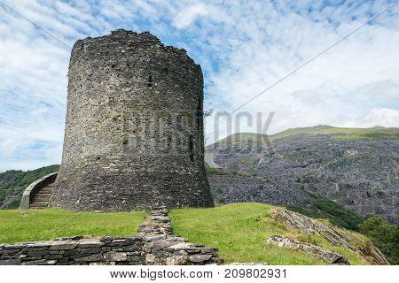 Dolbadarn Castle a 13th century castle in Llanberis North Wales Wales