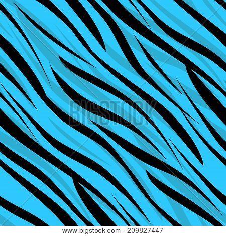 Seamless zebra skin african pattern style vintage, trendy