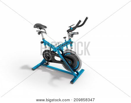 A Modern Exercise Bike Is A Compact Version For Home Use With An Electronic Length-of-route Sensor,