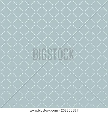Geometric dotted blue and white pattern. Seamless abstract modern texture for wallpapers and backgrounds