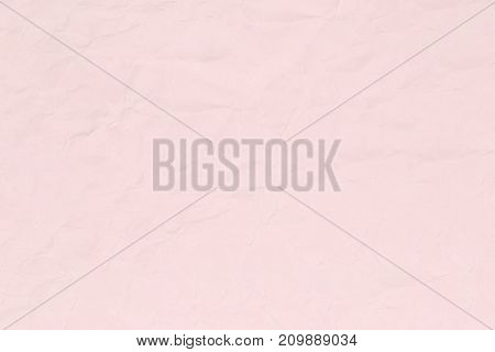 Crumpled pink paper texture or paper background for business education and communication concept design.