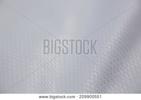 Close-up of white textile