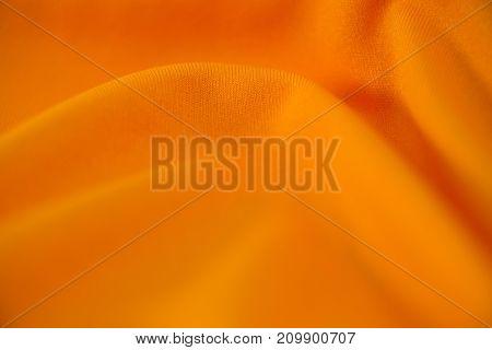 Close-up of orange textile