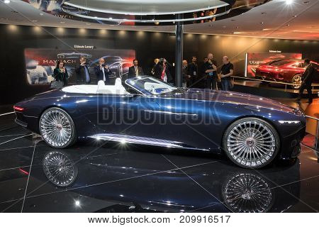 Ision Mercedes-maybach 6 Cabriolet Car
