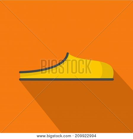 Slippers icon. Flat illustration of slippers vector icon for any web design