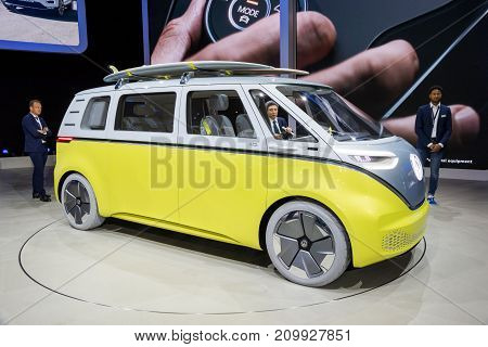 Volkswagen I.d. Buzz Electric Self-driving Campervan