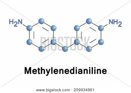Methylenedianiline is an organic compound. It is produced on industrial scale as a precursor to polyurethanes.