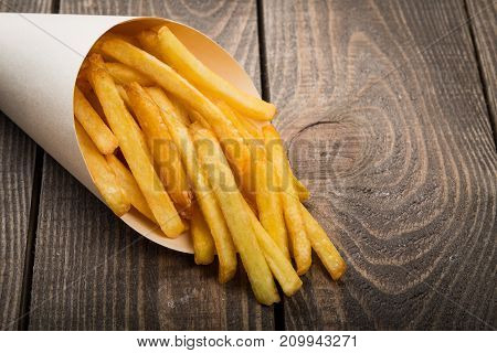 Paper package french fries fast food fast food menu color