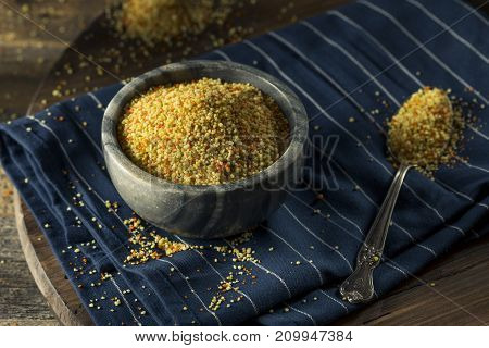 Raw Organic Dry Tri Color Couscous