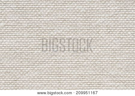 Natural linen uncolored canvas background. Can be used as texture.