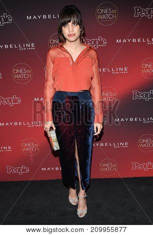 LOS ANGELES - OCT 04:  Natalie Morales arrives for the People's 'One's To Watch' Event on October 4, 2017 in Hollywood, CA