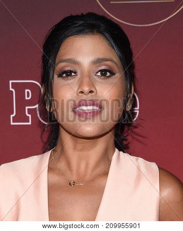LOS ANGELES - OCT 04:  Tiya Sircar arrives for the People's 'One's To Watch' Event on October 4, 2017 in Hollywood, CA