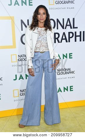 LOS ANGELES - OCT 09:  Dania Ramirez arrives for the 'Jane' Los Angeles Premiere on October  9, 2017 in Hollywood, CA