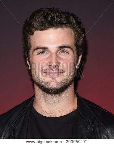 LOS ANGELES - OCT 04:  Beau Mirchoff arrives for the People's 'One's To Watch' Event on October 4, 2017 in Hollywood, CA