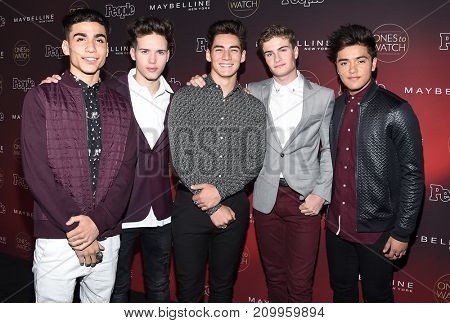LOS ANGELES - OCT 04:  In Real Life arrives for the People's 'One's To Watch' Event on October 4, 2017 in Hollywood, CA