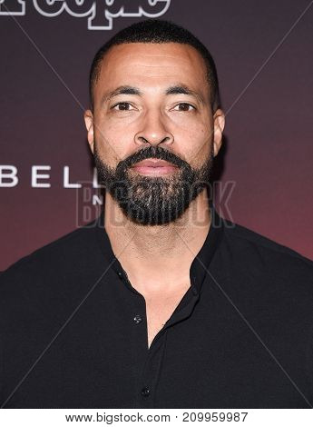 LOS ANGELES - OCT 04:  Timon Kyle Durrett arrives for the People's 'One's To Watch' Event on October 4, 2017 in Hollywood, CA