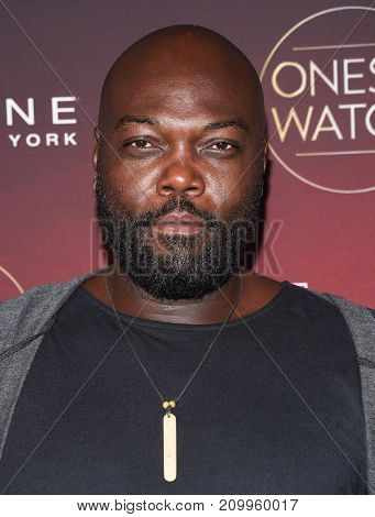 LOS ANGELES - OCT 04:  Peter Macon arrives for the People's 'One's To Watch' Event on October 4, 2017 in Hollywood, CA