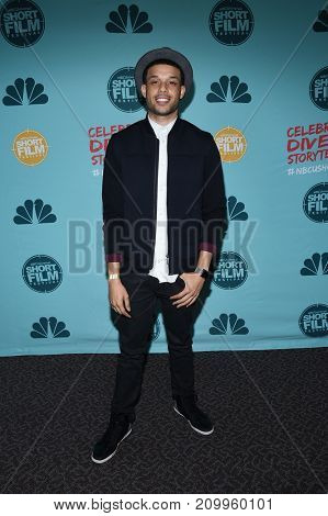 LOS ANGELES - OCT 18:  Roland Buck III arrives for the 12th Annual NBCUniversal Short Film Festival on October 18, 2017 in Los Angeles, CA