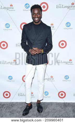 LOS ANGELES - OCT 12:  Bernard David Jones arrives for the Eva Longoria Foundation Dinner on October 12, 2017 in Beverly Hills, CA