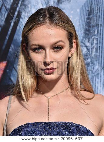 LOS ANGELES - OCT 16:  Mackenzie Loren arrives for the