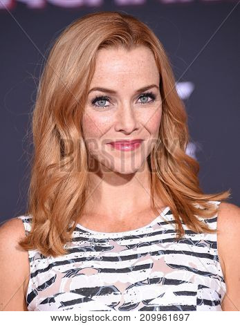 LOS ANGELES - OCT 10:  Annie Wersching arrives for the