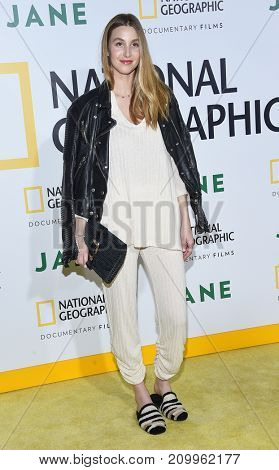 LOS ANGELES - OCT 09:  Whitney Port arrives for the 'Jane' Los Angeles Premiere on October  9, 2017 in Hollywood, CA