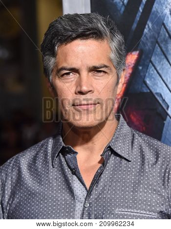 LOS ANGELES - OCT 16:  Esai Morales arrives for the