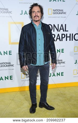 LOS ANGELES - OCT 09:  Kim Coates arrives for the 'Jane' Los Angeles Premiere on October  9, 2017 in Hollywood, CA