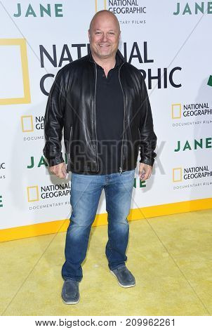 LOS ANGELES - OCT 09:  Michael Chiklis arrives for the 'Jane' Los Angeles Premiere on October  9, 2017 in Hollywood, CA
