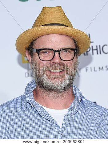 LOS ANGELES - OCT 09:  Rainn Wilson arrives for the 'Jane' Los Angeles Premiere on October  9, 2017 in Hollywood, CA