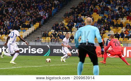 Uefa Europa League: Fc Dynamo Kyiv V Young Boys