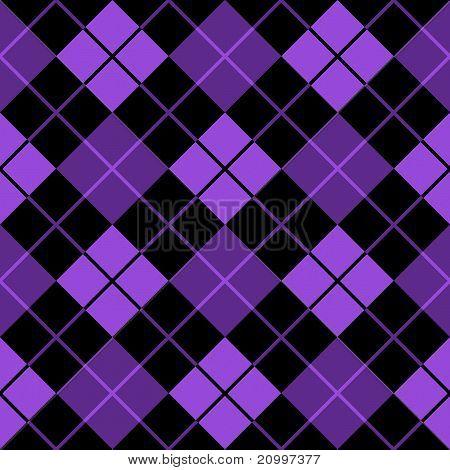 Argyle Purple Seamless Background