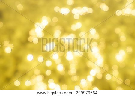 abstract yellow light bokeh pattern background - can use to display or montage on product