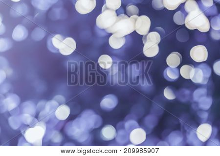 Defocused Violet Bokeh